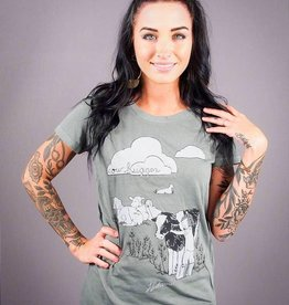 Cow Hugger Women's Tee