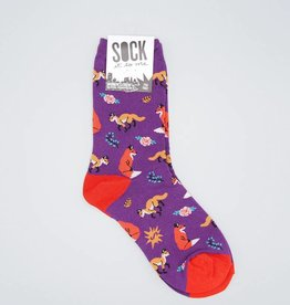 Fox Trot Women's Crew Sock from Sock it to Me