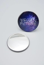 Vegan Future Pocket Mirror