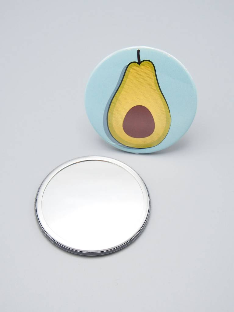 Avocado Pocket Mirror