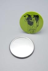 Cow Hugger Pocket Mirror