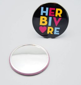 Herbivore Circle Pocket Mirror