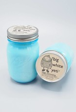 Big White Yeti Mason Jar Candle Night Swimming