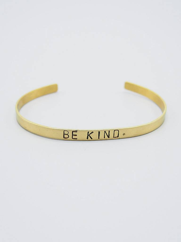 Be Kind. Cuff by Mishakaudi