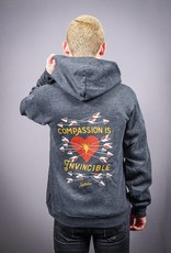 Compassion Is Invincible Zip-Up Hoodie