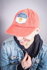 Vegan Future Orange Dad Hat