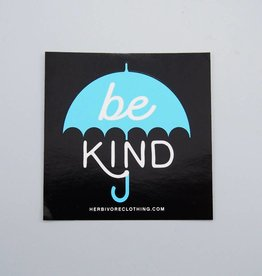 Be Kind Umbrella Sticker
