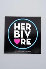 Herbivore Circle Sticker