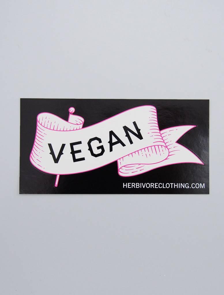 Vegan Banner Sticker