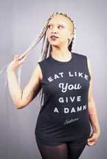 Eat Like You Give A Damn Unisex Muscle Tank