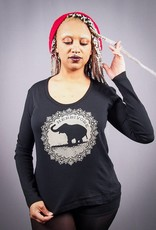 Good Luck Elephant Women's Long Sleeve Tee