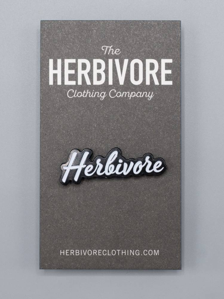 Herbivore Scripty Enamel Pin