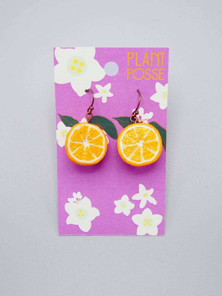 Plant Posse Oranges Earrings