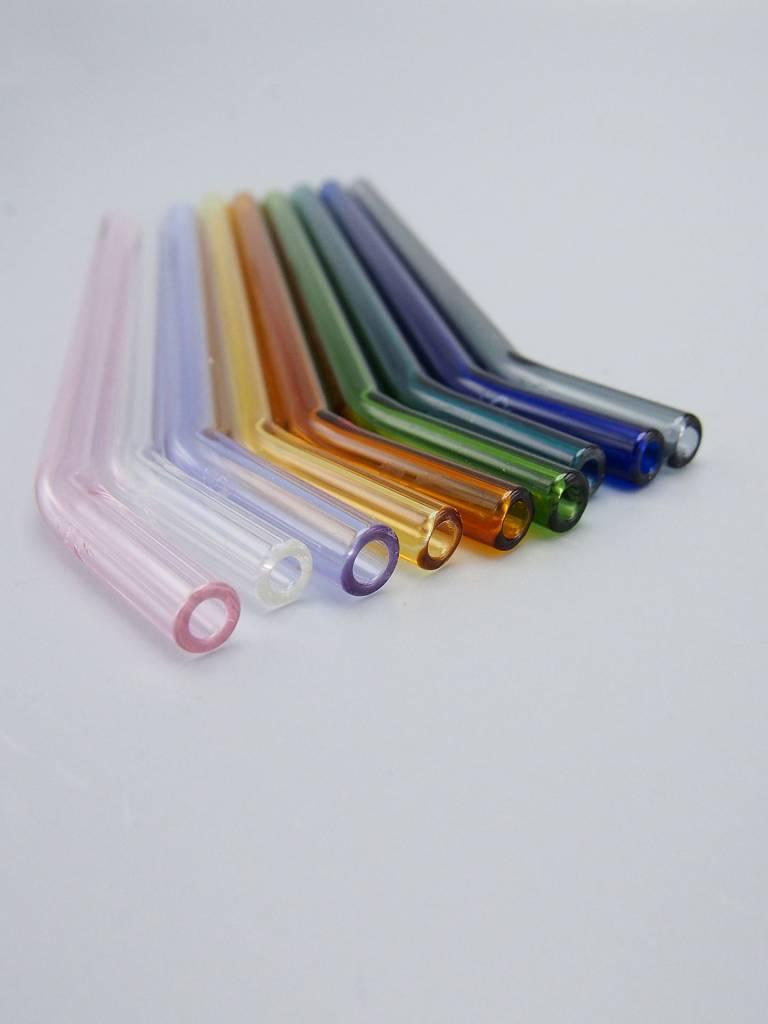 Simply Straws Bent Glass Straw