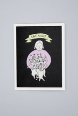 Cat Slut Card