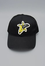 Vegan Banana Black Eco-Snapback Hat