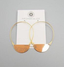 Carak Hoop Earring by Mishakaudi