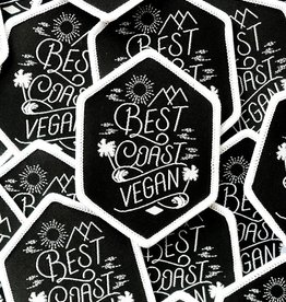 Best Coast Vegan Iron-on Patch