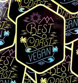 Best Coast Vegan Sticker