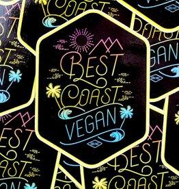 Best Coast Vegan Sticker