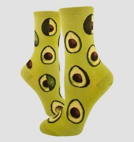 Avocado Phase Women's Crew Sock from Mod Socks