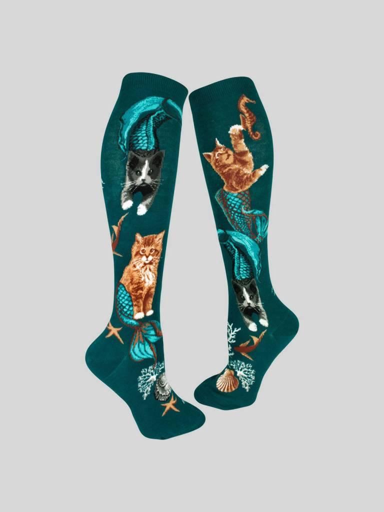 Purrmaids Knee Sock from Mod Socks