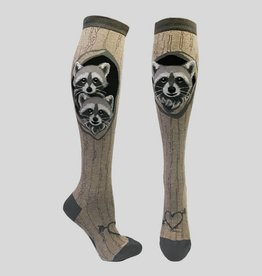 Raccoon Den Knee Sock from Mod Socks