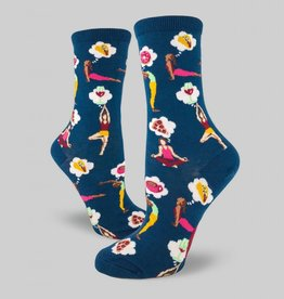 A Balanced Life Women's Crew Sock from Mod Socks