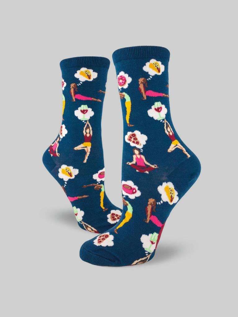A Balanced Life Women's Crew Sock from Mod Socks