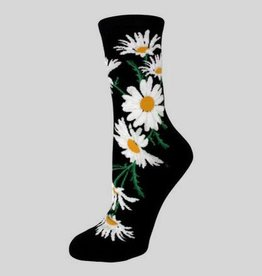 Crazy for Daisies Women's Crew Sock from Mod Socks