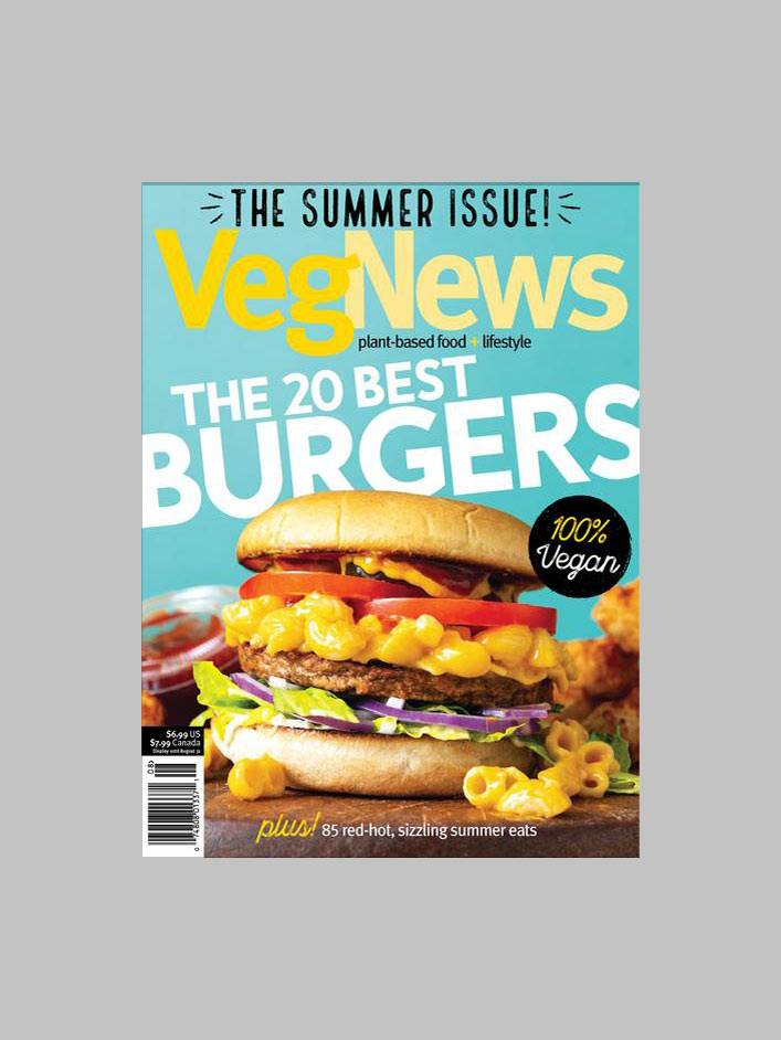VegNews Magazine July/August 2018 - The Summer Issue