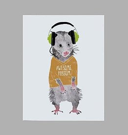 Awesome Possum Card