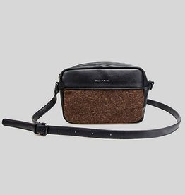 Monique Crossbody Bag by Pixie Mood Black & Cork
