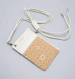 Daniella ID Pouch by Pixie Mood White & Cork