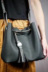 Jasmine  Tote Bag by Pixie Mood Black