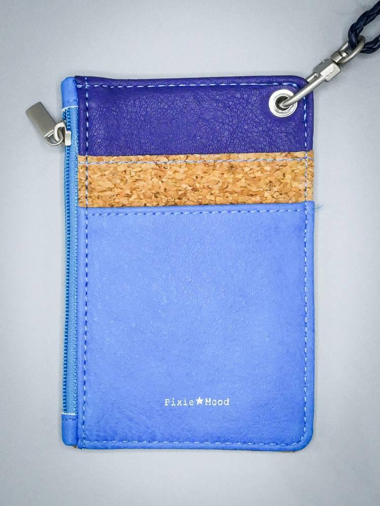 Daniella ID Pouch by Pixie Mood Blue & Blue