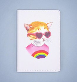 Rainbow Kitten Passport Cover - The Berkley Bestiary