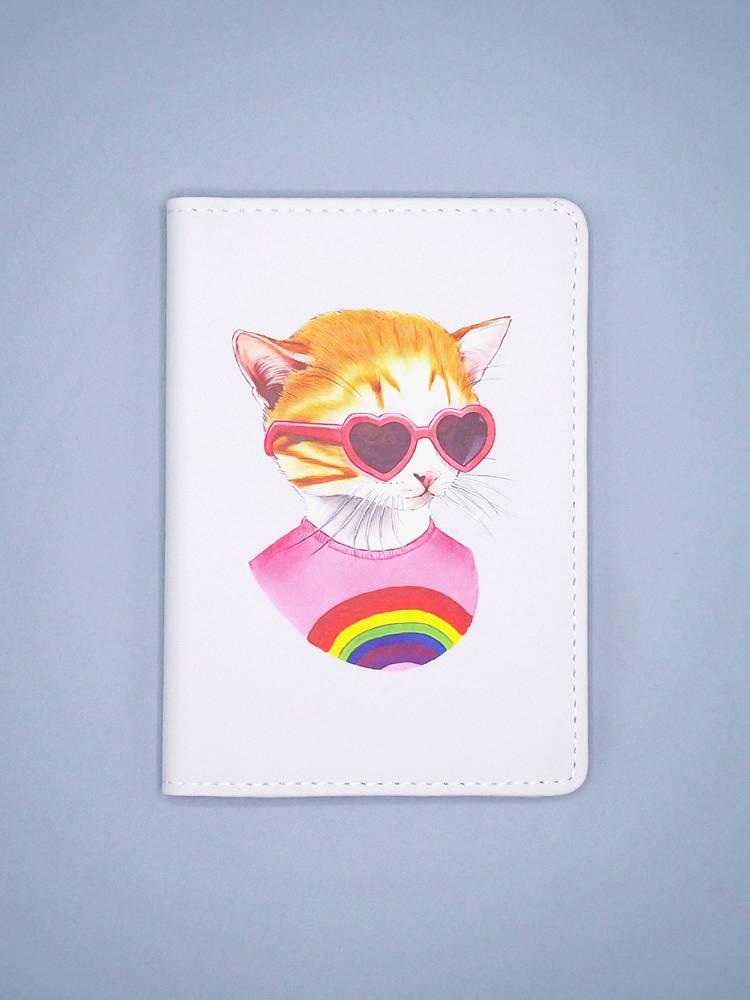 Rainbow Kitten Passport Cover - The Berkley Bestiary