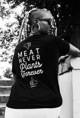 Meat Never, Plants Forever Women's Pocket Tee