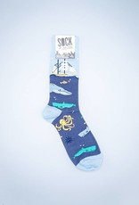 Sea Voyage Men's Crew Sock from Sock It To Me
