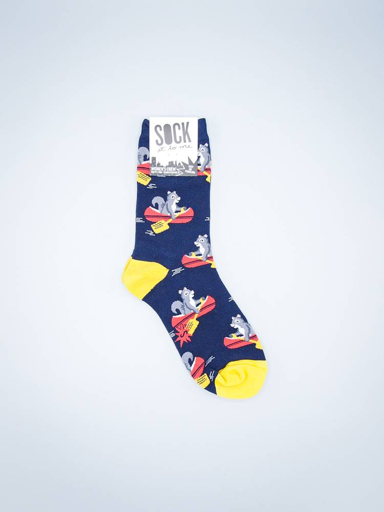 Keep On Paddling Women's Crew Sock from Sock It To Me