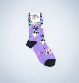 Cat-ercise Women's Crew Sock from Sock It To Me
