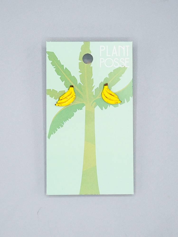 Plant Posse Bananas Post Earring