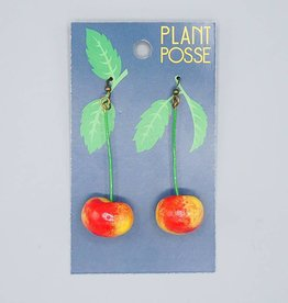 Plant Posse Cherry Earrings