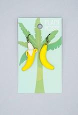 Plant Posse Banana Peeled Earrings