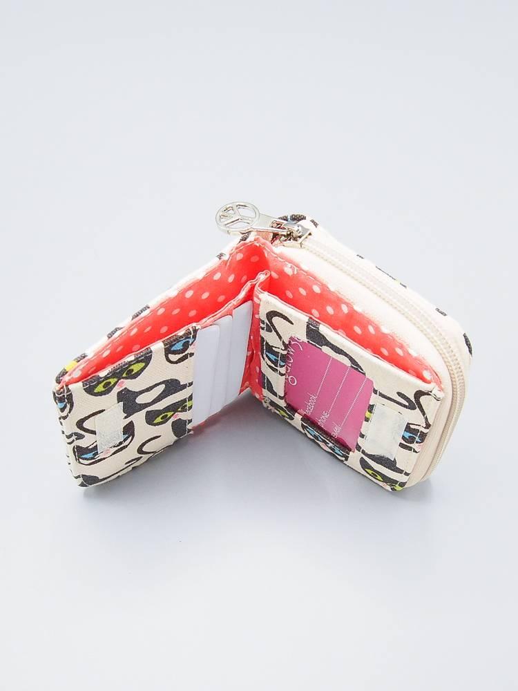 Bungalow 360 Small Zip Wallet (billfold)