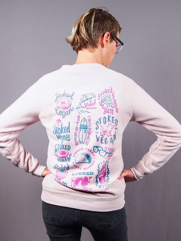 Stoked Vegan Crew Neck Sweatshirt