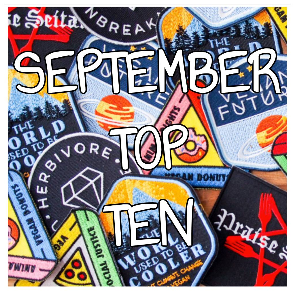 The 10 Most Popular Items in September!!