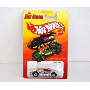 Hot Wheels HW Aeroflash Chrome Hot Ones Mattel 1:64 Diecast