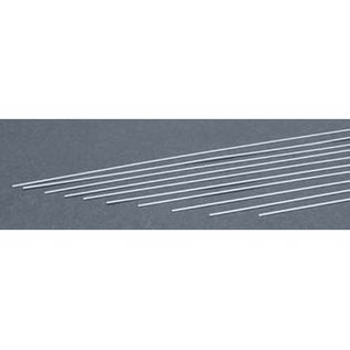Evergreen Scale Models .015 Dimensional Plastic Strips - White - Evergreen